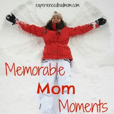 """Here's a list of my memorable """"Mom"""" moments from Winter Break, including the TV shows we bonded over and a trip that was a huge highlight. What were your memorable moments?"""