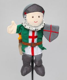 Take a look at this St George Hand Puppet by Clap Clap on #zulily today!