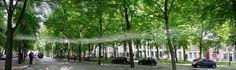 Marie-Hélène Richard: Virage, #landart, #sculpture,   Lange Voorhout den Haag, Netherland.