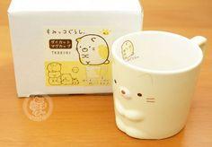 Un mug kawaii de la marque japonaise San-X, en forme du petit chat timide de Sumikko girashi !!(♡^x^♡) - Boutique kawaii en ligne www.chezfee.com