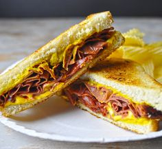 The classic Southern Fried Bologna Sandwich — Don't hate. Just appreciate. This is good stuff.