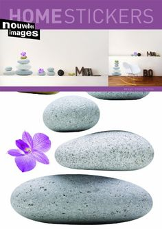 Home Stickers Zen Stone Decorative Wall Stickers - http://decorwalldecals.com/home-stickers-zen-stone-decorative-wall-stickers/