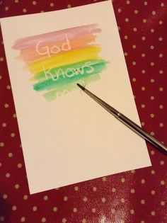 Flame: Creative Children's Ministry: God knows us wax resist painting