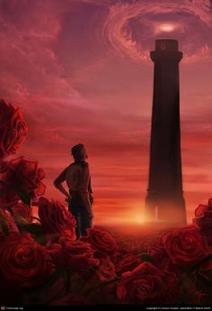 Another of my Dark Tower work from Stephen King. Dark Tower Art, The Dark Tower Series, Gunslinger Dark Tower, Dark Tower Tattoo, Roland Deschain, Stephen King Books, Stephen Kings, Fable, Conte