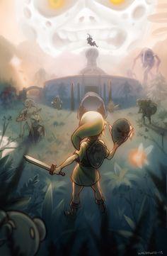 Majora's Mask by whispwill -                                         Nintendo Forever