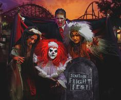 Six Flags Great Adventure Unleashes Biggest Fright Fest in History: Six New Fright Fest Attractions for 2017
