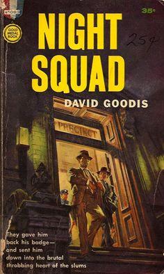 Night Squad by David Goodis - hard-boiled pulp fiction