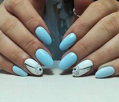 #nails #bluenails #skyblue #lovethisnails #fashionnails #nailart #design #salonnails #art #nailsdesing #nailsaddict #instanails #perfection #mywork #loveit #oradea #romania Trend Trendy Nails Makeup Beauty Party Style