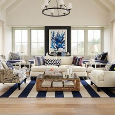 Interior Design Styles: 8 Popular Types Explained - FROY BLOG - Nautical-Decor-3