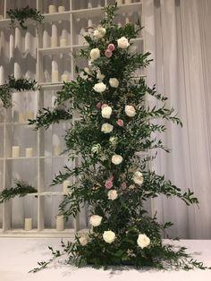 Head Table Wedding, Christmas Tree, Holiday Decor, Home Decor, Teal Christmas Tree, Holiday Tree, Xmas Tree, Interior Design, Home Interior Design