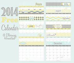 2014 calendarios gratis