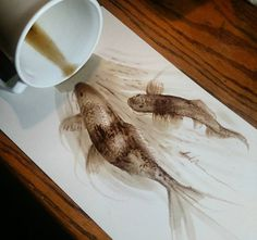 Learn The Basic Coffee Painting Techniques For Beginners – Ideas And Projects