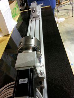 4th axis assembly Pilot Pro CNC www.pdjinc.com
