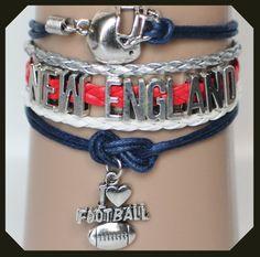 New England Patriots Modwrap Bracelet