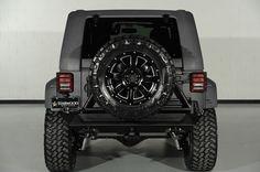 2014 Jeep Wrangler Unlimited 4x4 SUV 4 Door: Custom Rear Bumper