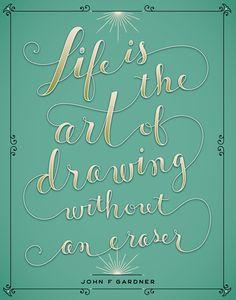 Jessica Hische, graphic design, poster, typography | Fine Art