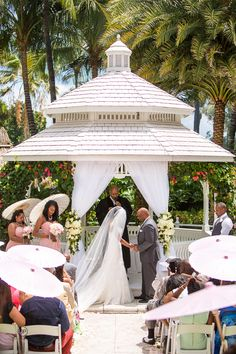 wedding Ceremony by Orth Photography, Wedding portraits, Wedding photos, Miami photography, The Palms Hotel Miami