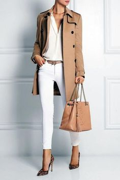 25 Awesome Fashionable Spring Outfits For Women Ideas - Spring Work Outfits Outfits Casual, Style Casual, Office Outfits, Mode Outfits, Work Casual, Classy Outfits, Fashion Outfits, Fashion Ideas, Office Wear