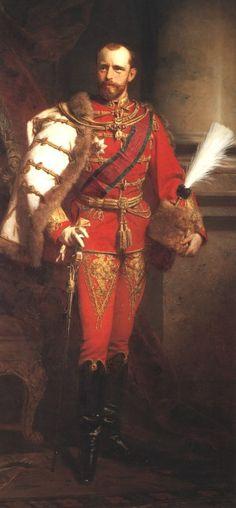 HI&RH the archduke Rudolf of Austria, kronprinz of Austria-Hungary.