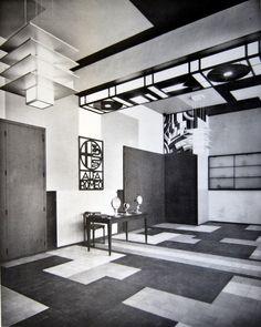 Rene Herbst interior.