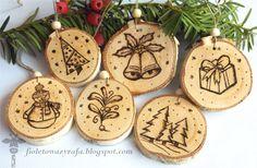 Inspiracje Projektantek Christmas Houses, Christmas Wood, Holiday Crafts, Winter Time, Christmas, Xmas Trees