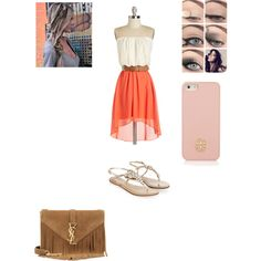 Sunny Day in the Country! by purplepoponedirection on Polyvore featuring polyvore, fashion, style, Monsoon, Yves Saint Laurent, Tory Burch and country