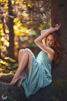 Forest Nymph II by Crimson Photography on Outdoor Photography, Photography Women, Portrait Photography, Woods Photography, Female Poses, Female Portrait, Forest Fashion, Senior Picture Outfits, Street Portrait