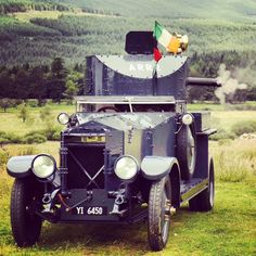 This Sunday August, a very special guest will be 'rolling' into the… Ireland 1916, West Cork, Michael Collins, Al Capone, Army Vehicles, Emerald Isle, Special Guest, Cemetery, Old Photos