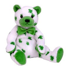 Clover the bear-Ty Beanie Babies