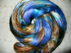 spinning wool | Faux Mohair Top for Hand Spinning Yarn by sdspin on Etsy