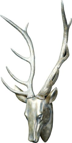 The Stag Head - Pewter from Urban Barn is a unique home decor item. Urban Barn carries a variety of Art and other  products furnishings.