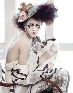 High Fashion Mimes - 'Imaginarium' by Andrey Yakovlev & Lili Aleeva Features Circus Couture (GALLERY)