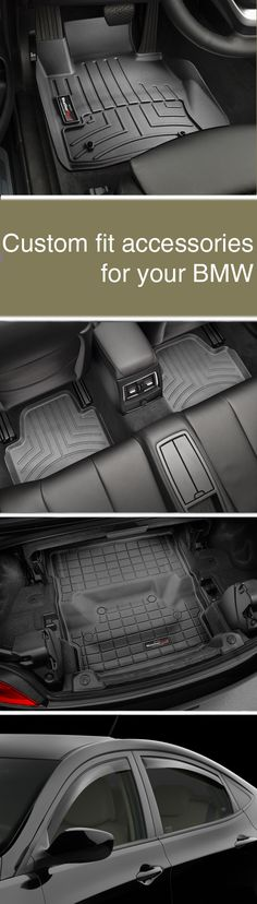 WeatherTech®- Custom fit accessories for your BMW.