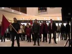 Les Miserables Flash Mob, Kingsgate Centre, Dunfermline. So ours probably won't be as amazing as this. But we must do a Les Mis flashmob.