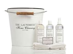 Spring cleaning set by The Laundress