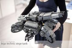 Lego Technic Starcraft 2 Siege Tank