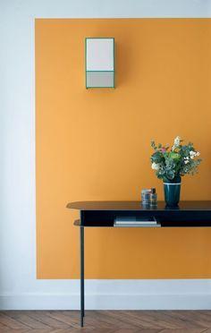 BRABBU Design Forces - Contemporary Home Furniture - Looking for a cosmopolitan design? Half Painted Walls, Wall Design, House Design, Contemporary Home Furniture, Contemporary Design, Room Colors, Colorful Interiors, Interior Inspiration, Room Decor