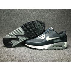 on Nike Air Max 90 Mens UK in the shop.We guarantee that the shoes you buy are authentic, and we also offer you free home delivery. Air Max 1, Nike Air Max, Air Max Sneakers, Sneakers Nike, Nike Men, Black And Grey, Beige, Unisex, Navy