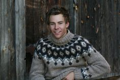 Men's Icelandic wool sweater