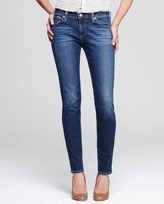 AG Jeans Denim Stilt Cigarette Legging in 10 Years Rio #Shopping #WWWDenimWeek