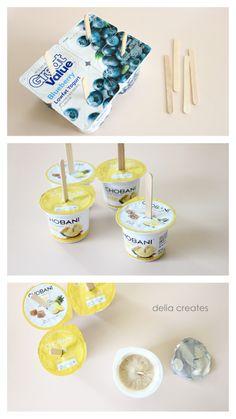 delia creates: Five Second Yogurt Pops