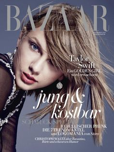 Taylor Swift for Harper's Bazaar Germany November 2014
