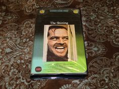 The Shining (VHS, 1981) Rare OOP 1st Warner Clamshell! Nicholson/Kubrick Horror!