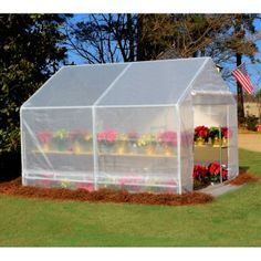 King Canopy 10 x 10 ft. Portable Greenhouse - Greenhouses at Hayneedle