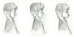 """disneyconceptsandstuff: """" Model Sheet for Frozen by Jin Kim """" Animation News, Animation Storyboard, Storyboard Artist, Cartoon Sketches, Disney Sketches, Disney Drawings, Character Design Animation, Character Drawing, Character Illustration"""