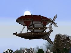 Air Ship for Elysium Crafting made by Jack_Wolf and zimmer4 minecraft