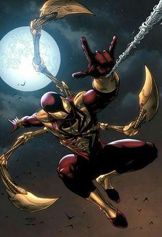 Peter Parker/ Spider-Man (Iron Spider)
