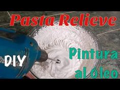 DIY. Como hacer pasta relieve - YouTube