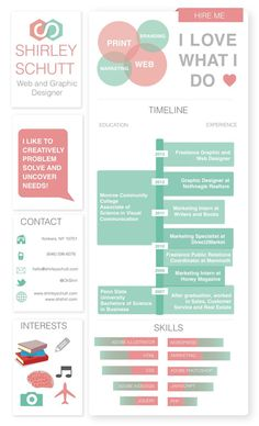 adore this cv from the orig pinner i design infographic resumes like this one check out my portfolio of creative resumes by clicking the pic - Computer Science Resume Design