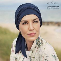 Pois Chapeau chez chimiothérapie chemomütze Casquette//Beanie bleu foncé M